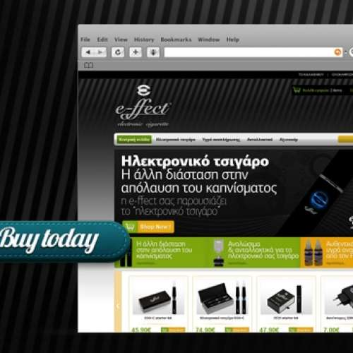 E-ffect electronic cigarette e-shop