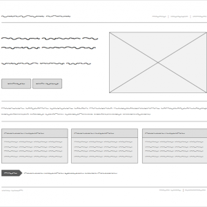 FILLR: A Filler Text Font for Wireframes