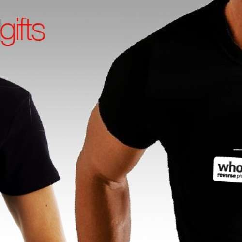 Whocallsme.gr  promo t-shirts