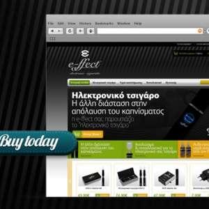 E-ffect electronic cigarette e-shop
